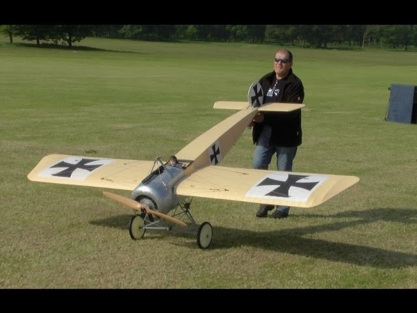 GIANT SCALE DAWN PATROL UK RC WW1 WARBIRDS - SCOUTS FIGHTERS WESTON PARK RC MODEL AIRSHOW - 2014