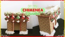 DIY MINI chimenea navideña hecha con carton Fireplace