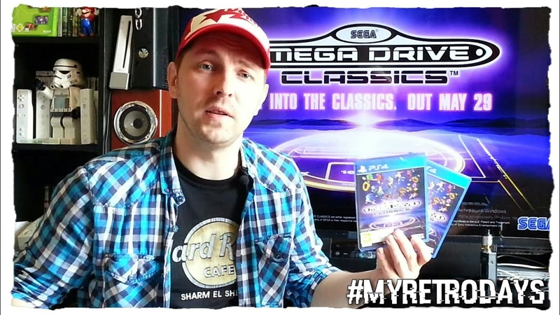 SEGA MEGA DRIVE COLLECTION PS4 -ОБЗОР-РАСПАКОВКА MEGA DRIVE COLLECTION-РЭТРО ИГРЫ