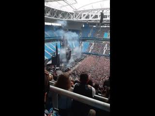 Rammstein live, st.petersburg 02.08.2019