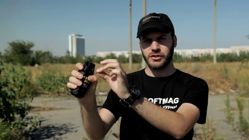 [Обзор] Гранаты TAG-innovation для страйкбола и пейнтбола. Airsoft grenade