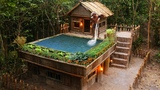 Building The Greatness Swimming Pool On The King Villa By Bamboo