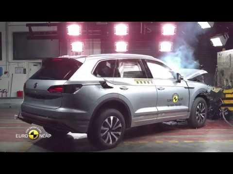 Euro NCAP Crash Test of VW Touareg