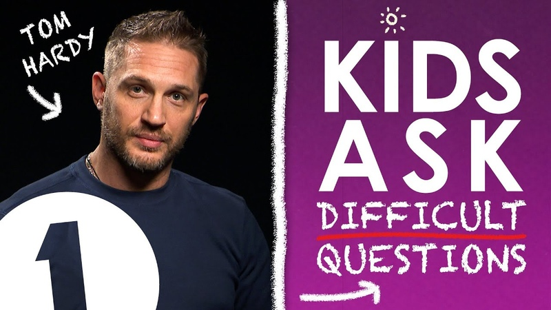 What's the naughtiest thing you've ever done?: Kids Ask Tom Hardy Difficult Questions