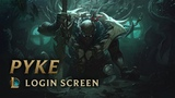 Pyke, the Bloodharbor Ripper Login Screen - League of Legends