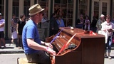 Dom Pipkin- New Orleans Blues on Street Piano