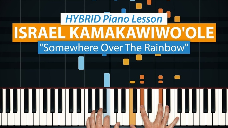 How To Play Somewhere Over The Rainbow by Israel Kamakawiwo'ole | HDpiano (Part 1) Piano Tutorial