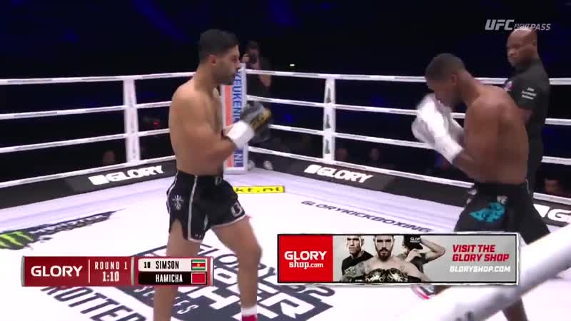 GLORY62 Results: Mohamed Mezouari def. Miles Simson by knockout (head kick). Round 1, 1:53
