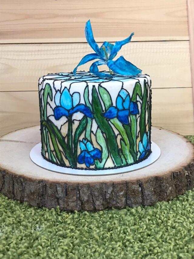 витраж торт