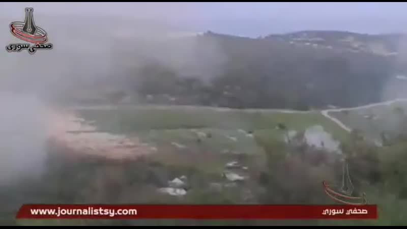 S.A.AS 4TH DIVISION ARTILLERY _ GOLAN MISSILES BARRAGE ON AL-NUSRA _ T.I.P SITES NORTHERN LATAKIA