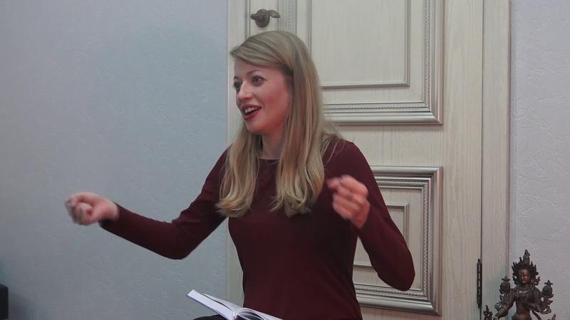 Анна Тарасова. Беседа о танце