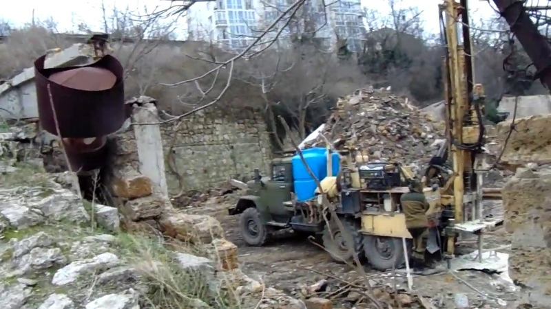 буровые телодвижения в охранной зоне объектов времён Крымской Войны