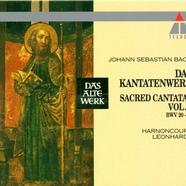 Nikolaus Harnoncourt альбом Bach : Sacred Cantatas Vol.2 : BWV 20-36