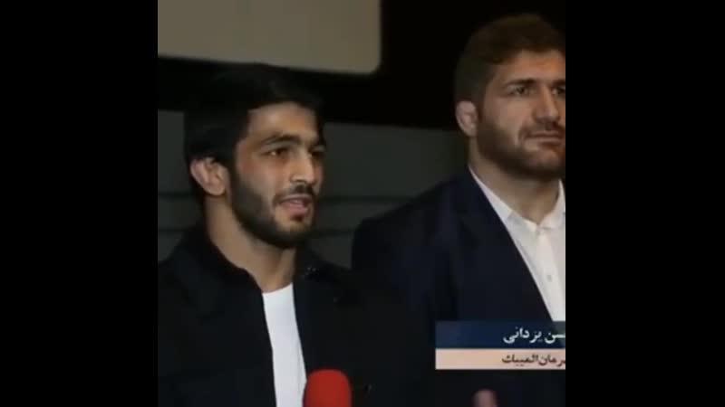 Хассан Яздани на премьере фильма фильма Голамреза Тахти