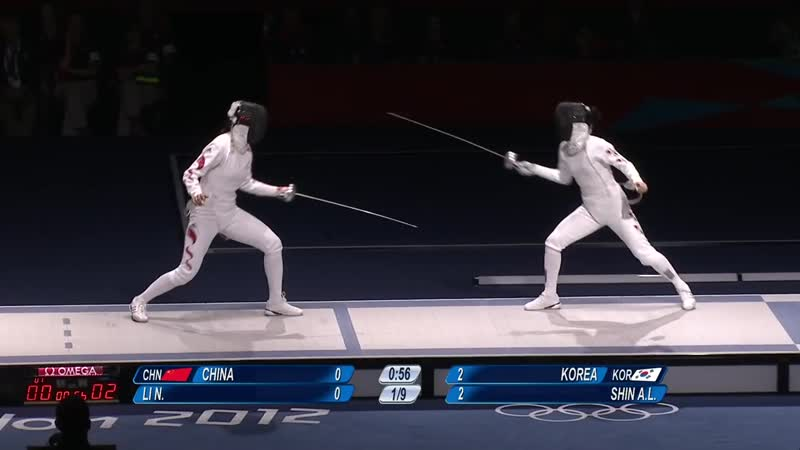 Womens Fencing Team Epee - London 2012 Olympics