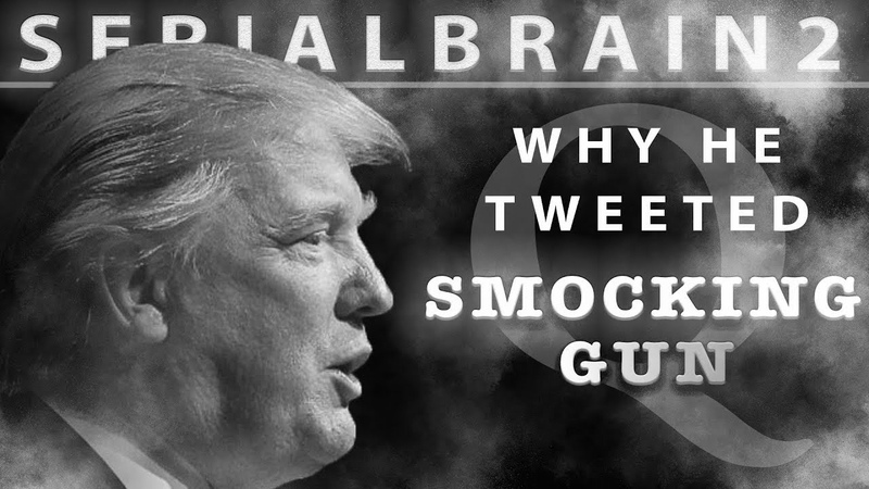 SerialBrain2 - The Reason Trump Tweeted Smocking Gun