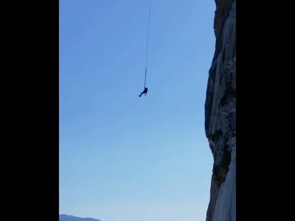 Экстремальный прыжок в Приморье