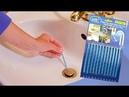 Засор в трубах? Как прочистить? - Sani Sticks - палочки для очистки туб!