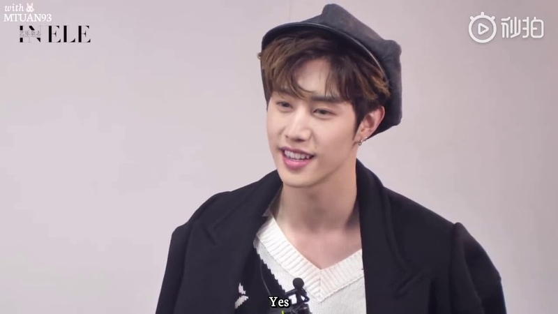 181120 GOT7 Mark Tuan interview with ELE magazine (eng subbed)