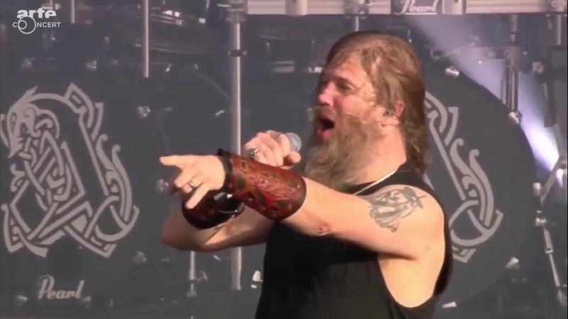 AMON AMARTH - Raise Your Horns - Live at Hellfest - (Pro-Shot) - (HD)