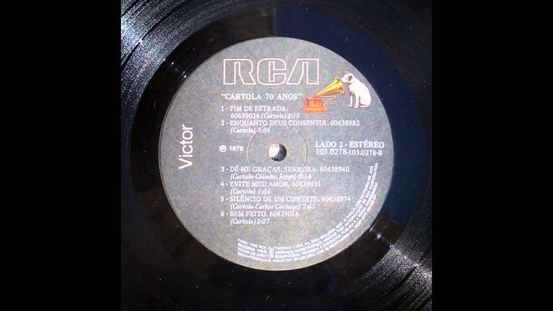 Cartola - 70 anos (1979) - Full album (Vinyl Rip)