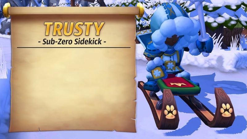 Royal Guardians - Sled Trusty (Sub-Zero Sidekick)