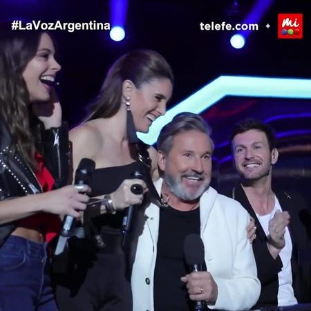 """La Voz Argentina on Instagram: """"¡No se podían quedar sin cantar! 🎶 Los coaches también se dieron el lujo de tener su audición a ciegas en LaVozArg..."""