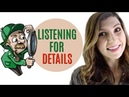 How to Listen for Details Improve Your Skills