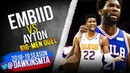 Joel Embiid vs Deandre Ayton BiG MEN Duel 2018.11.19 - Ayton With 17, Embiid With 33, 17 Rebs!