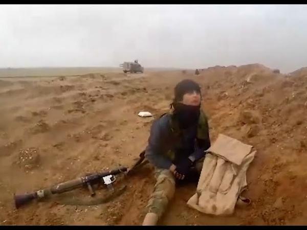 GoPro Cam video taken off a dead ISIS jihadi December 2018 Deir ez Zor province Syria