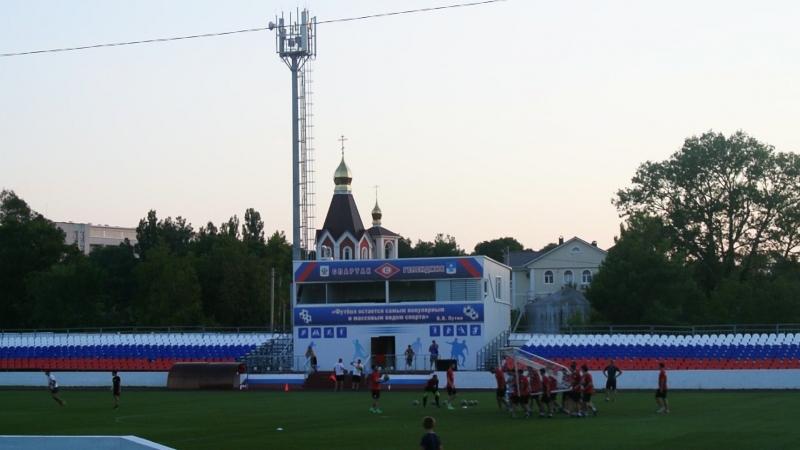 Тренировка пфк Спартак пос Дивноморское