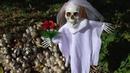 Кукольный спектакль на природе, грибы и кукла