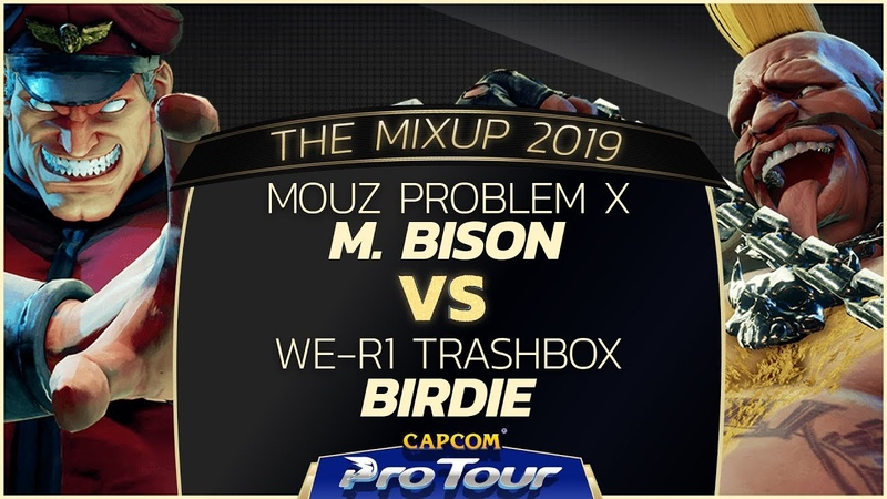 MOUZ Problem X M Bison vs We R1 Trashbox Birdie The MixUp 2019 Top 8 CPT 2019