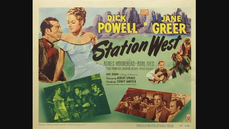 Station West (Destacamento Oeste) (1948) (Español)