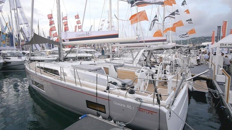 ⛵ Обзор яхты Oceanis 46.1 First Line. Премьера на Cannes Yachting Festival.