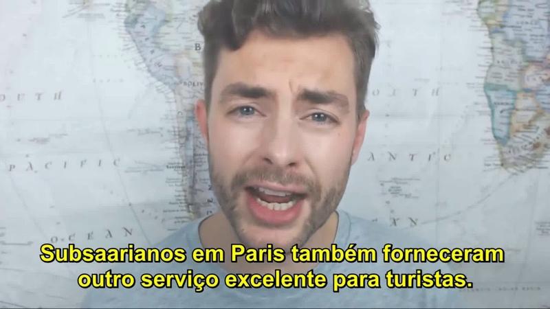 Paris é uma merda de imigrantes