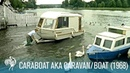 'Caraboat' aka Caravan/Boat: A House You Can Float (1968) | British Pathé