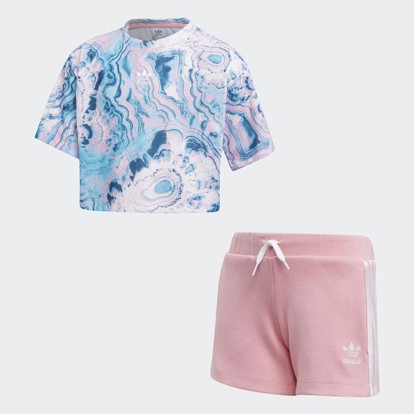 Комплект: футболка и шорты Marble