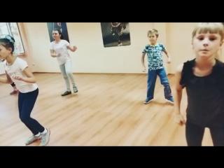 Hip-Hop KIDS в Танцевальной студии DNC / Педагог : Дмитрий Шиндров