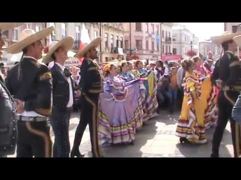 XXX Międzynarodowe Spotkania Folklorystyczne.Zespół ESTAMPAS DE MEXICO. 12.07.2015 Lublin.