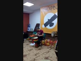 Этнофест-2019. Барабаны для продвинутых. Luc Vejux (Франция)