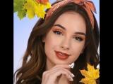 Красивый осенний макияж