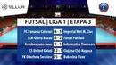 Rezumat - Futsal Liga I - Etapa 3