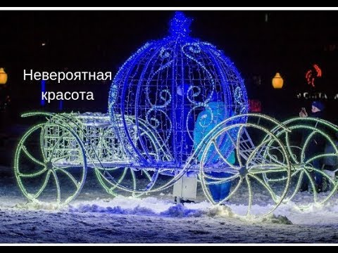 VLOG Пришли по на площадь)Новогодняя елка горит !новогодняя елка на площади