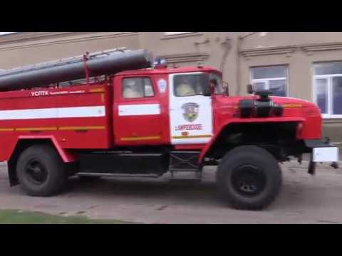 Пожарно тактические учения в с Кировское Черноморского района