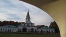 Звон колоколов на Часовой башне в Коломенском