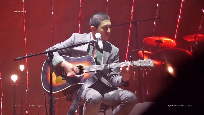 181224 Christmas special The Present DAY6(데이식스) - Man in a movie(Acu ver.)성진(SUNGJIN)focus
