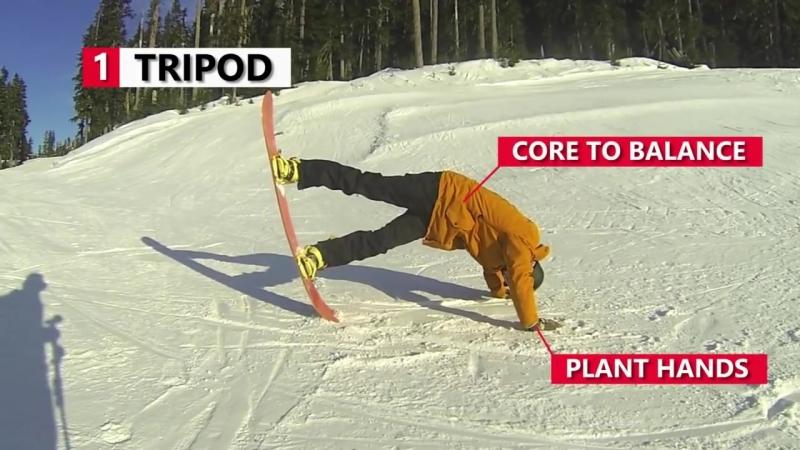 Сноуборд. 10 трюков на сноуборде