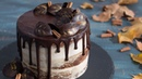 Semi-Naked Pumpkin Chocolate Cake