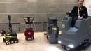 Уборочное оборудование для профессионального клининга компании Керхер